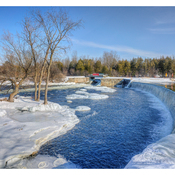 Falls around Smiths Falls
