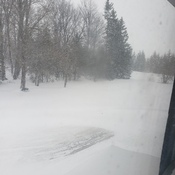 snow day in melancthon