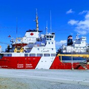 Coast Guard dock in Port Colborne