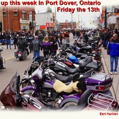 Friday the 13th Port Dover Ontario