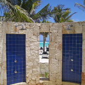 Beach Showers ~ Riviera Maya
