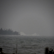 Iceberg on Lake Huron