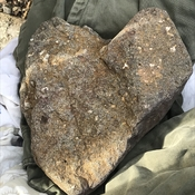 Giant rock heart