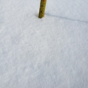 Winkler snowstorm brought 24 cm of snow