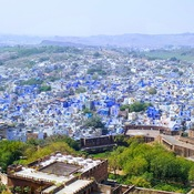 view of Blue city Jodhpur