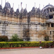 Jain temple at Ranakpur Rajasthan