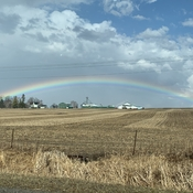 Rainbow in the Kawarthas