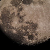 lunar close up