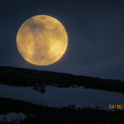 Spring super moon
