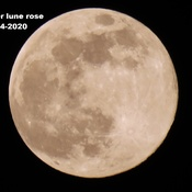 Super Lune Rose du 7 avril 2020