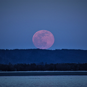 Super Moon over Constance Bay
