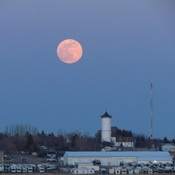 Pink Supermoon Tuesday April 7, 2020