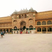 View of Amer Fort in Jaipur and surroundings