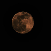 super lune pris a 11:00 le 7 avril 2020