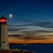 Planetary Conjunction at Peggys Cove
