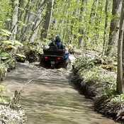 OFATV trails West of Barrie, On