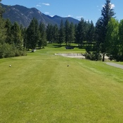 radium hotsprings golf