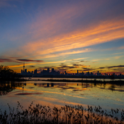 Sunset at Tommy Thompson Park