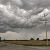 Stormy clouds in Kawartha Lakes