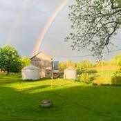 Rainbow at our Farm
