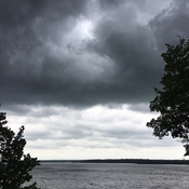 Thunderstorm Warning Pigeon Lake