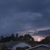 Lightning Strikes in Kelowna