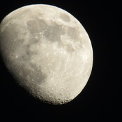 Waxing Gibbous Moon.