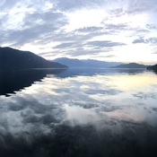 Evening on Kootenay Lake