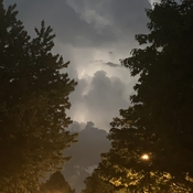 Tuesday night storm