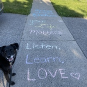 Lovely day to listened love and learn