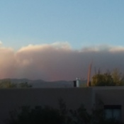 Fire in Tucson's Catalina Mountains