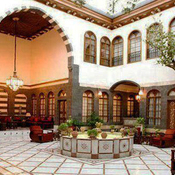 architectural style of Damascene houses- Syria