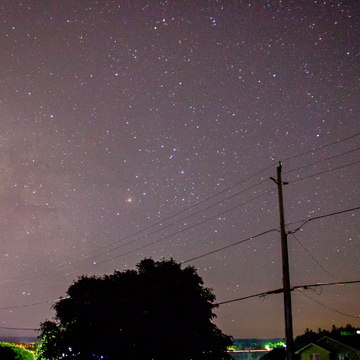 The Milky Way in the Bonnechere Valley