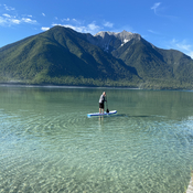 Paddle Boarding in the Kootenays