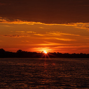 Belleville Ontario sunrise along the Bay of Quinte