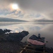 Early morn Big Bonne Bay pond