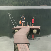 Fishing in Christina Lake BC