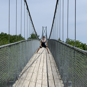 Suspension Bridge at Scenic Caves