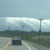 Never seen these clouds before!