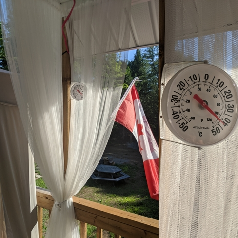 current temp Gilmour, ON