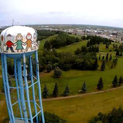 Ft Saskatchwen water tower