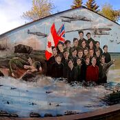 Veterans meural in Chipman Alberta