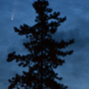 Tumbler Ridge Neowise Comet 20200711_234am