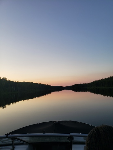 Evening Boat Ride Turnor Lake, SK