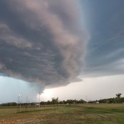 Storm in Melville Sk tonight