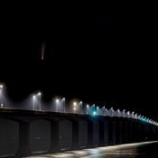 Comet Neowise Over Confederation Bridge
