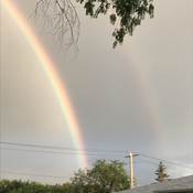 Pretty double Rainbow