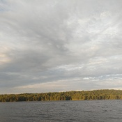 sundawn in Gatineau, Phillipe Lake