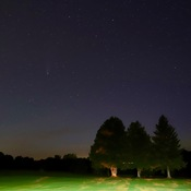 Comet Neowise High Above North Bay Golf & Country club