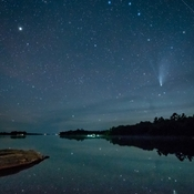 Neowise Comet on Georgian Bay